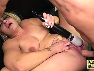 bdsm big boobs blonde