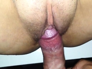 amateur close-up creampie