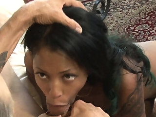 black and ebony blowjob hd